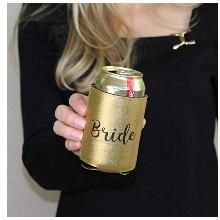 Gold & Black Bride Cozy
