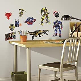 Transformers Peel And Stick Wall Decals, Peel And Stick Wall Decals