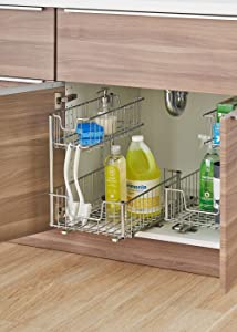 Amazon.com: Trinity Sliding Under Sink Organizer: Home & Kitchen