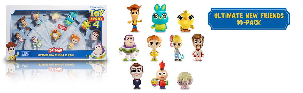 Best Deal Kid/'s Play Have Fun Toy Story 4 Minifigures Brand New Pixar