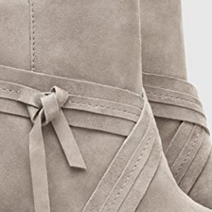 Women's boots, comfort boots, wedge boots