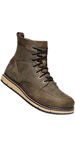mens san jose six inch mid alloy aluminum toe safety footwear water-proof work boot