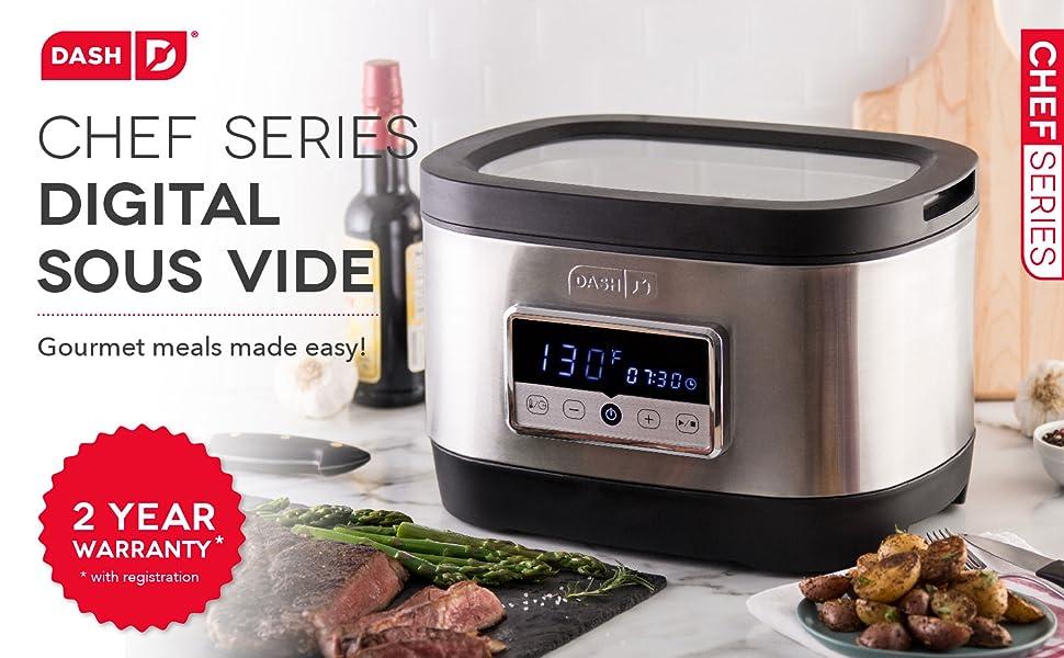 Sous Vide, Digital, Vacuum, Steak, Meat, Vegetables