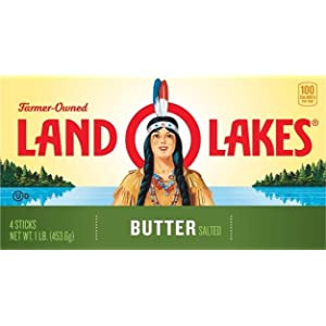 Land o lakes unsalted butter 1 lb amazon grocery gourmet food available in salted and unsalted land o lakes butter is the original sweet cream butter each stick comes with the flavorprotect wrapper that keeps other reheart Images