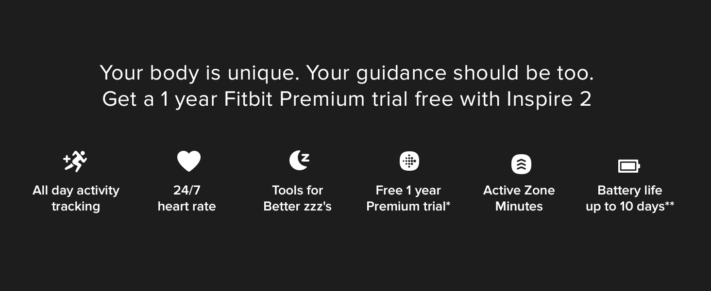 Fitbit Inspire 2 - Features
