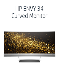 HP ENVY 34 Curved Monitor