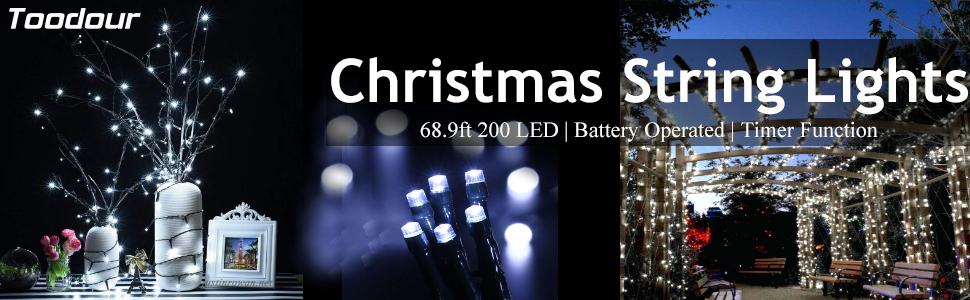 christmas lights,led string lights,battery string lights