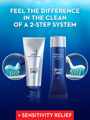 Feel the difference in clean of a 2-step system.