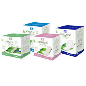 tampons panty liners pads