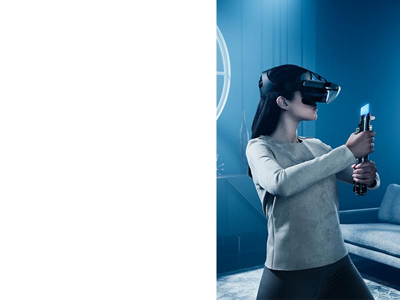 virtual reality vr headset video games star wars jedi