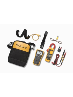 Fluke, Digital Multimeter, 116, 323, Clamp Meter, True-rms, HVAC
