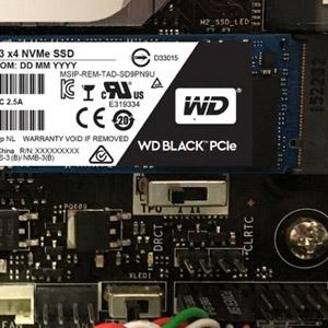 WD Black 256GB Performance SSD - 8 Gb/s M 2 PCIe NVMe Solid State Drive –  WDS256G1X0C [Old Version]
