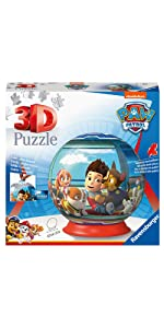 puzzle ravensburger pat'patrouille 3d