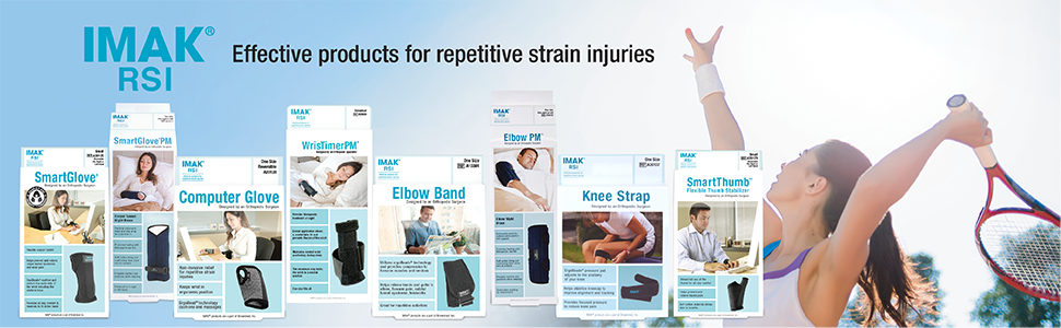 IMAK RSI Relief for Repetitive Stress Injuries