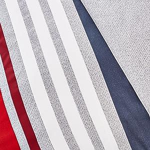 lacoste comforter; lacoste duvet; striped comforter; striped duvet; red blanket; red comforter;