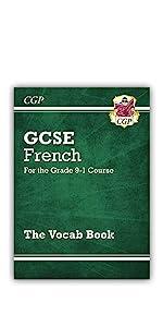 9-1 GCSE GCSE French Vocab Book