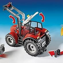 Playmobil, Country, Farm, Tractor, Detachable