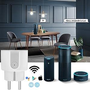 AISIRER Enchufe Inteligente Wifi