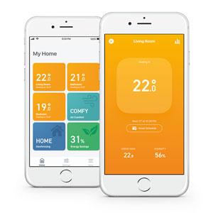 El ambiente de tu casa en una app