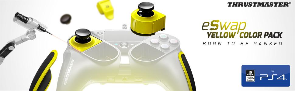 Thrustmaster - eSwap Yellow Color Pack, 7 módulos oficiales en ...