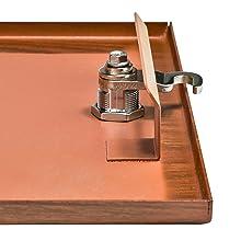 Patented Anti-Pry Latch Lock
