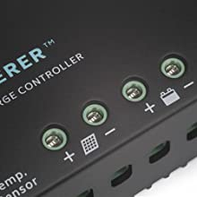 Renogy Wanderer -- 30A Advanced PWM Negative-Ground Solar Charge Controller