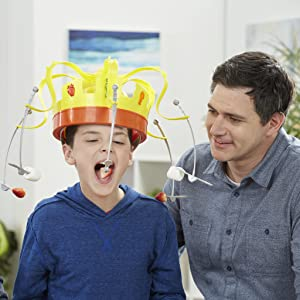 Hasbro Gaming - Juego infantil Corona Comilona(Hasbro E2420175 ...