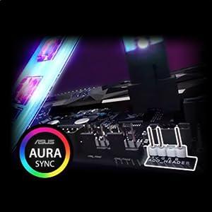 TUF Gaming, B450 motherboard, Aura Sync