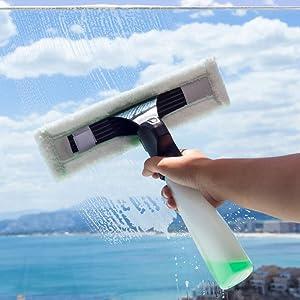 Cecotec Conga Crystal Clear - Aspirador limpiacristales eléctrico ...