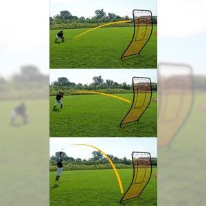 Champro NB26 Unique Infinity Rebound Pitchback Screen 72 x 42 Inch Training Aid