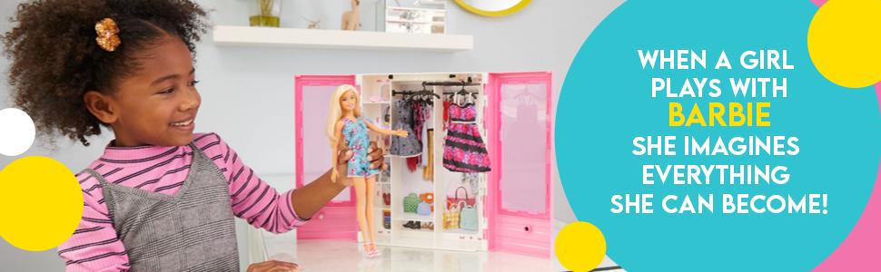barbie, closet, barbie closet, barbie doll, dolls, gifts, gifts for girls, princess, princess doll