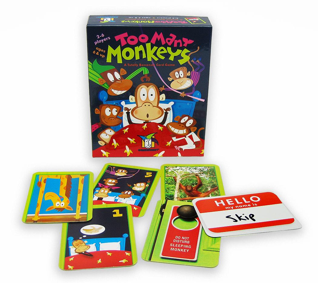 Amazon.com: Gamewright Too Many Monkeys: Toys & Games