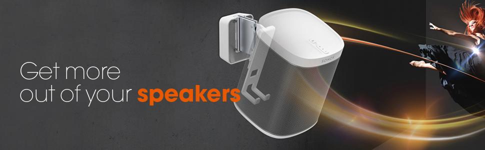 sonos speaker wall mount bracket surround sound
