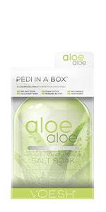 pedi in a box, pedicure kit, foot care, spa pedicure, spa in a box, diy pedicure, 6 step spa kit