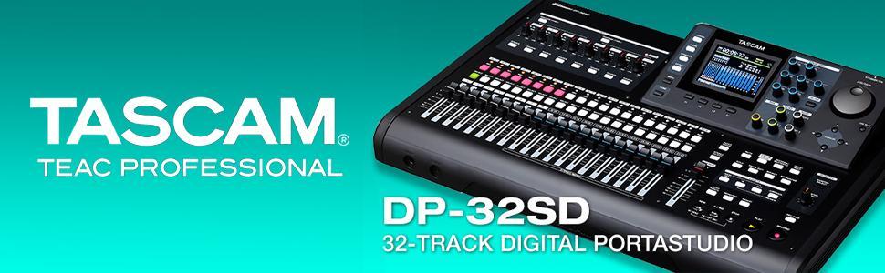 Tascam Dp 32sd 32 Track Digital Portastudio : tascam dp 32sd 32 track digital portastudio multi track audio recorder musical ~ Vivirlamusica.com Haus und Dekorationen