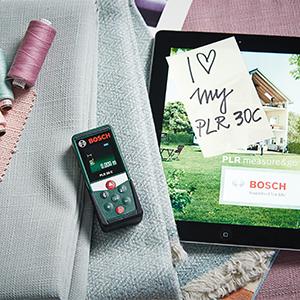 Bosch;laser;measure;measuring;rangefinder;Bluetooth;plr;laser measure;connected;display;0603672100;