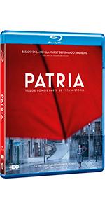 patria, bluray, bd