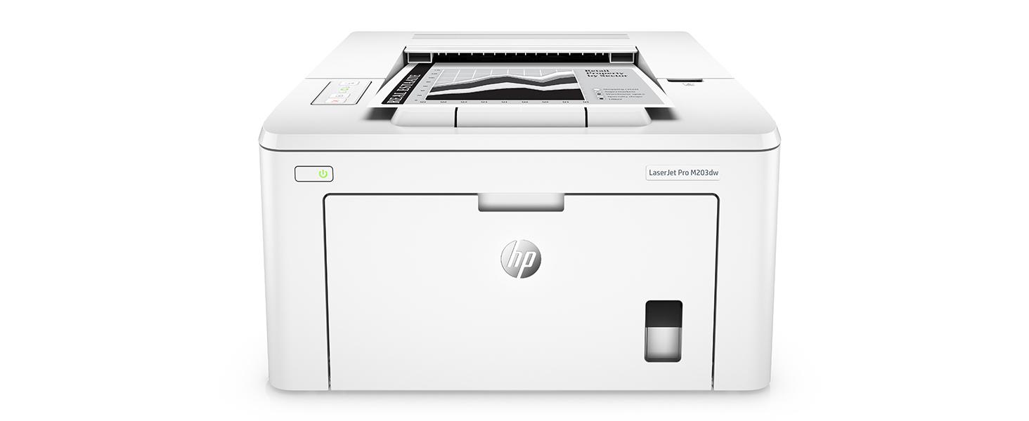 HP LaserJet Pro M203dw Wireless Laser Printer, Amazon Dash Replenishment ready (G3Q47A). Replaces HP M201dw Laser Printer