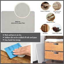 HOUZE - Diatomite Absorbent Mat (Large) : Easy to clean; just scrub stains with sandpaper and wash