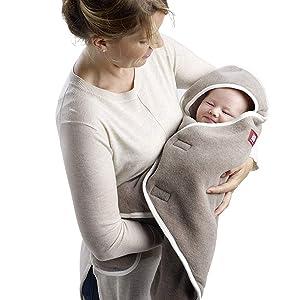 RedCastle, couverture bébé, couverture polaire, pled bébé, babynomade, double polaire, couverture