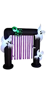 bzb goods HALLOWEEN inflatables inflatable airblown decor sunstar outdoor decoration gemmy blowup