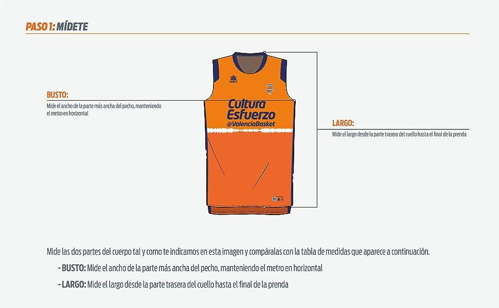 Valencia Basket Camiseta de Juego LF1 Mujeres