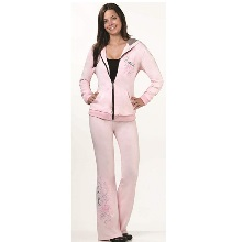 Pink Bride Hooded Jacket & Pants