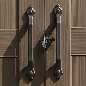 Lockable safe secure
