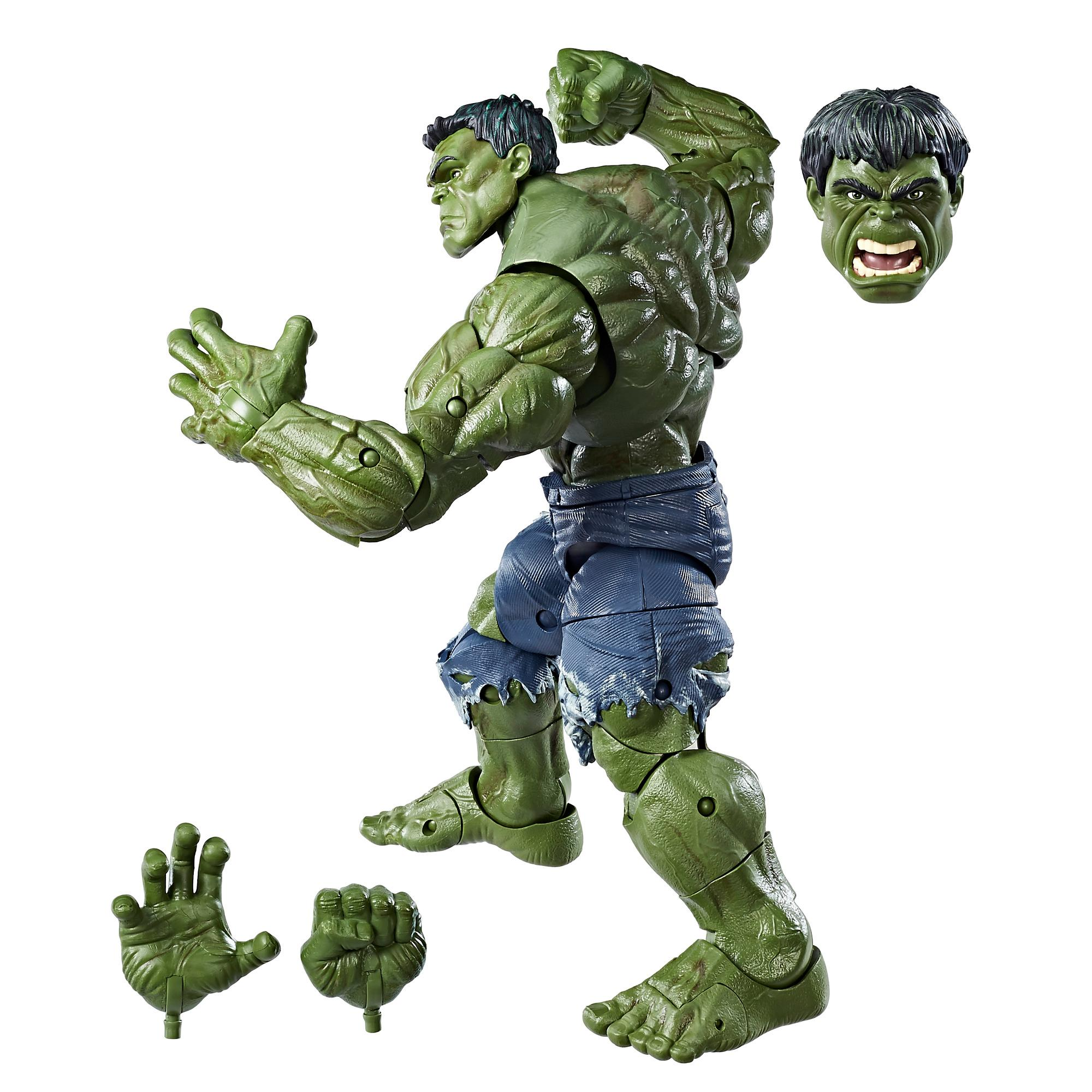 Amazon.com: Avengers Marvel Legends Series Hulk, 14.5-inch
