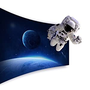 3D, 2D, Moon, optimized content, Blu-ray, HDMI, USB, Wi-Fi, Royole, Immersive Mobile Theater,