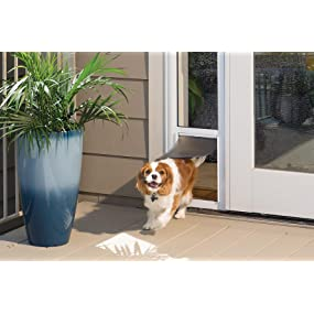 Door Dog Dogs Doggie Doggy Doors Large Ideal Pet;electronic For Sliding  Glass Patio Panel