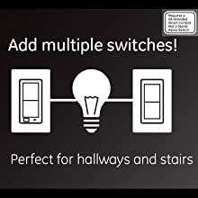 Ge Addon Switch Only For Zwave Zigbee And Bluetooth. Convert To A Multilocation Switch Add Any Gebranded Smart. Smart. Add On Switch Wiring Ge Smart At Scoala.co