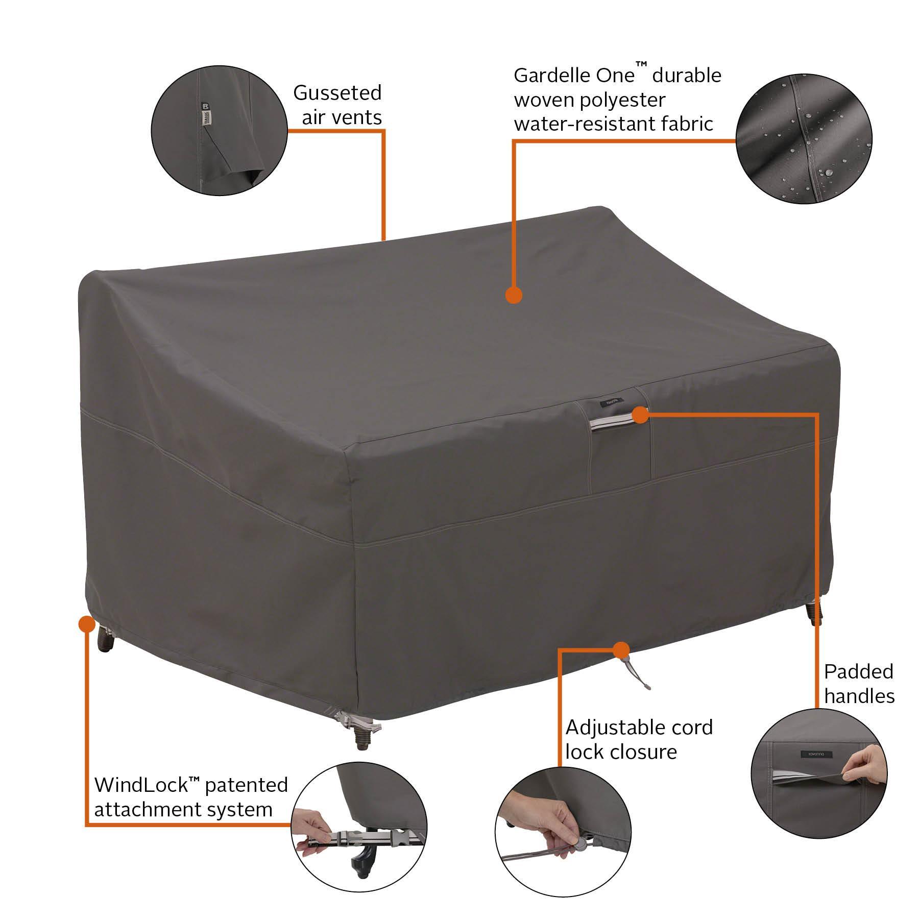 Amazon Com Classic Accessories Ravenna Patio Deep Seat