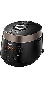 Cuckoo Electric Heating Pressure Rice Cooker CRP-P1009SB (Brown)